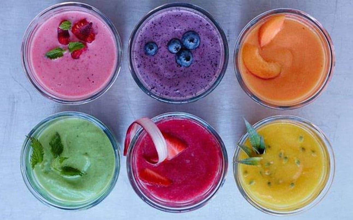 batidos de frutas para niños