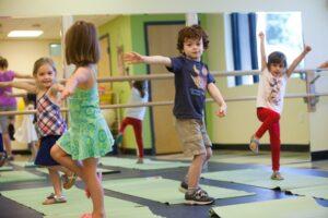 Actividades de equilibrio para niños