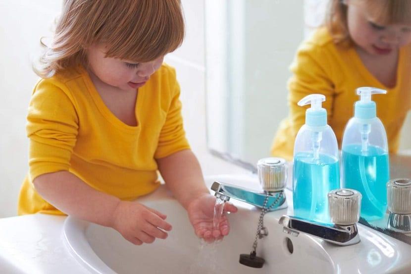 Importancia del lavado de manos en niños