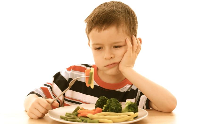 abrir el apetito en los niños