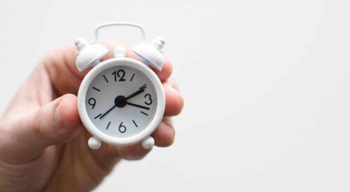 la puntualidad para niños
