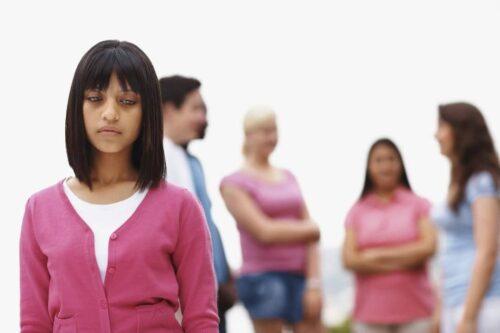 niños rechazados por sus compañeros