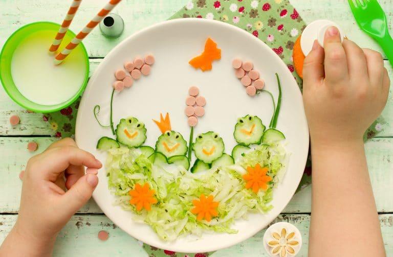 camuflar verduras en los niños